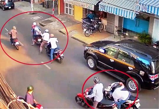 Cả chục người nhìn cướp kéo lê nạn nhân không chút hỗ trợ