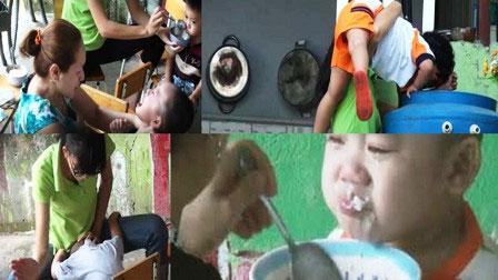 Camera quan sát ghi lại cảnh đánh đập trẻ em ở nhà trẻ