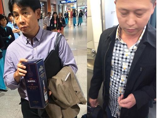 Bắt quả tang khách Trung Quốc trôm đồ ở sân bay