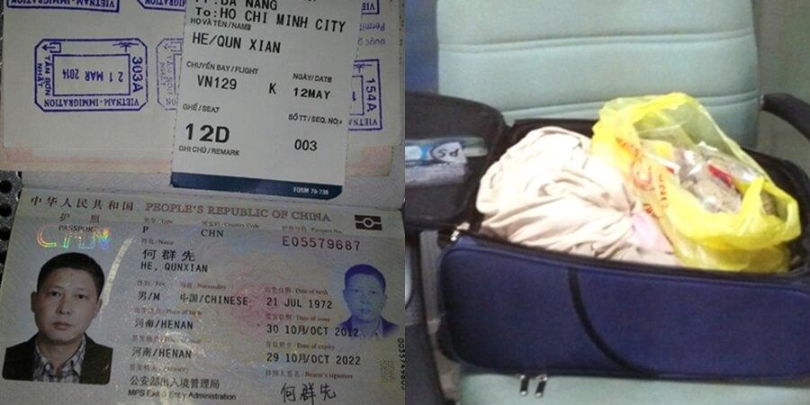 Bát quả tang khách Trung Quốc trộm đồ ở sân bay