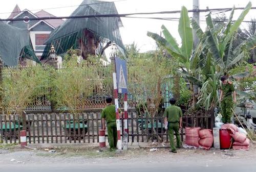 Camera ghi hình kẻ đột nhập biệt thự có 2 vợ chồng bị sát hại