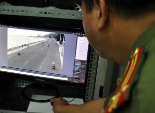 Vũng Tàu lắp đặt camera giám sát đô thị