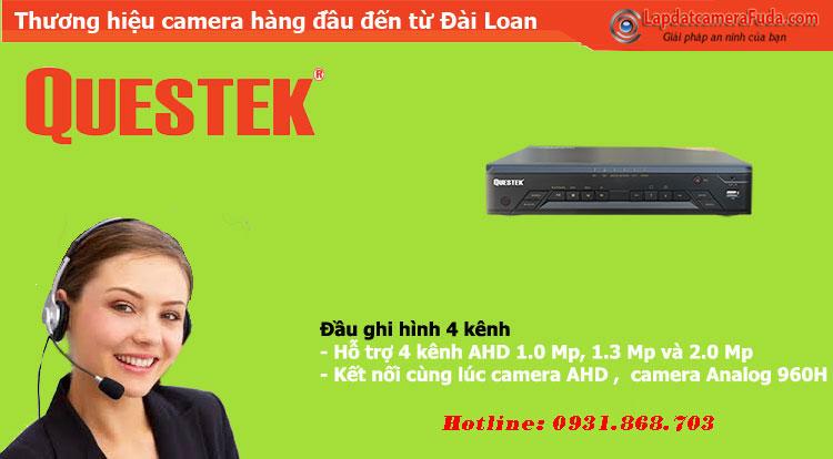 Đầu Ghi Hình 4 Kênh AHD QUESTEK WIN-8404AHD
