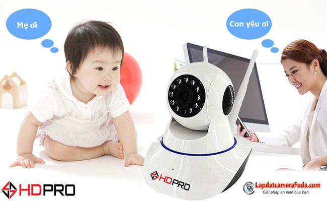 Camera IP Không dây HDPRO HDP-888IP1.0