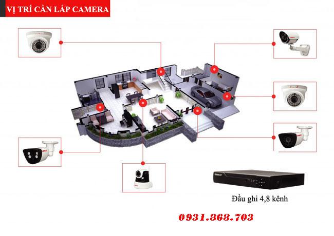 Lắp Đặt Trọn Bộ 1 Camera Nhập Khẩu Cao Cấp, lap dat tron bo mot camera nhap khau cao cap
