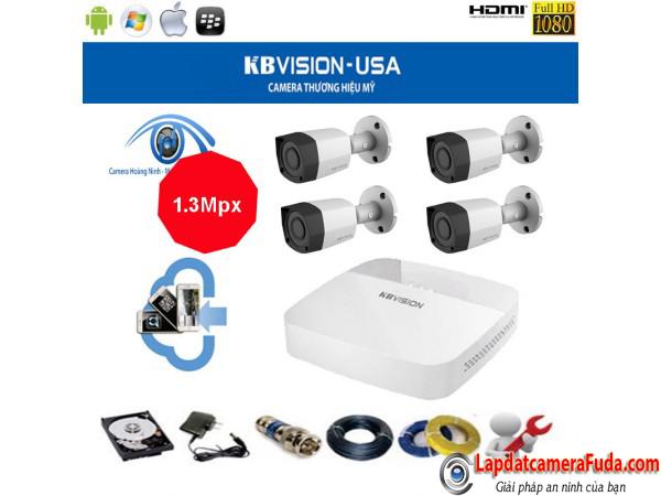 lắp đặt trọn bộ camera kbvision