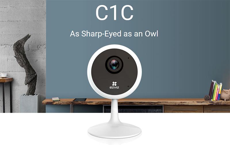 Tổng quan chức năngSmart Camera Wifi Ezviz CS-C1C 720P