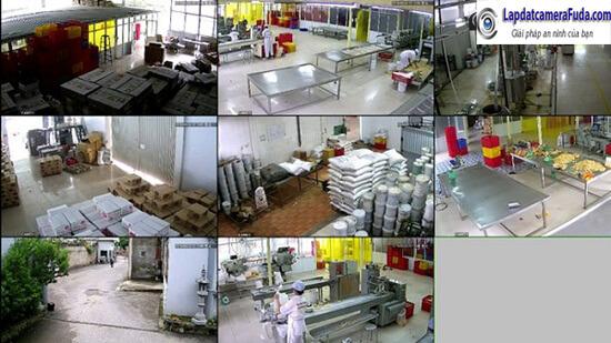 Thi công lắp đặt camera quan sát nhà xưởng, nhà máy